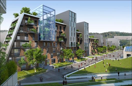 Ville du futur l 39 architecte vincent callebaut imagine l for Ideal hotel design 75014