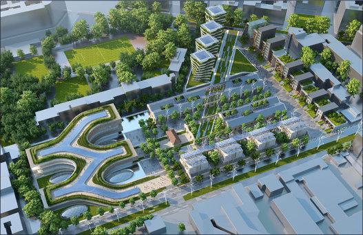 Top Ville du futur: l'architecte Vincent Callebaut imagine l'avenir  XP25