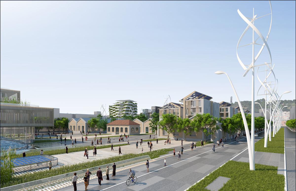 Ville du futur l 39 architecte vincent callebaut imagine l for Projet d architecture