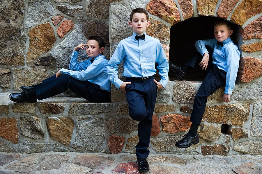 Super Stylish Kids At Weddings