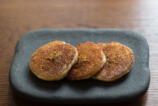 Get the Potato Mochi with Shichimi Togarashi Pepper recipe from Kyoko ...