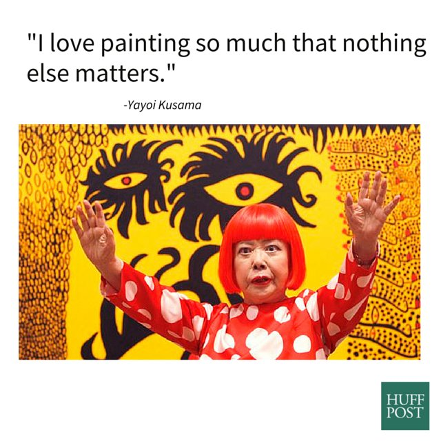 The World S Most Recently Posted Photos Of Jurassic And: Meet Yayoi Kusama, The Woman Recently Dubbed The World's