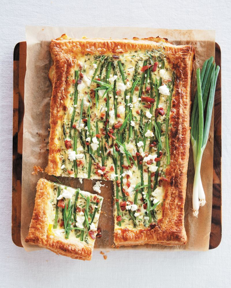 Get the Asparagus, Bacon And Goat Cheese Tart recipe from A Beautiful ...
