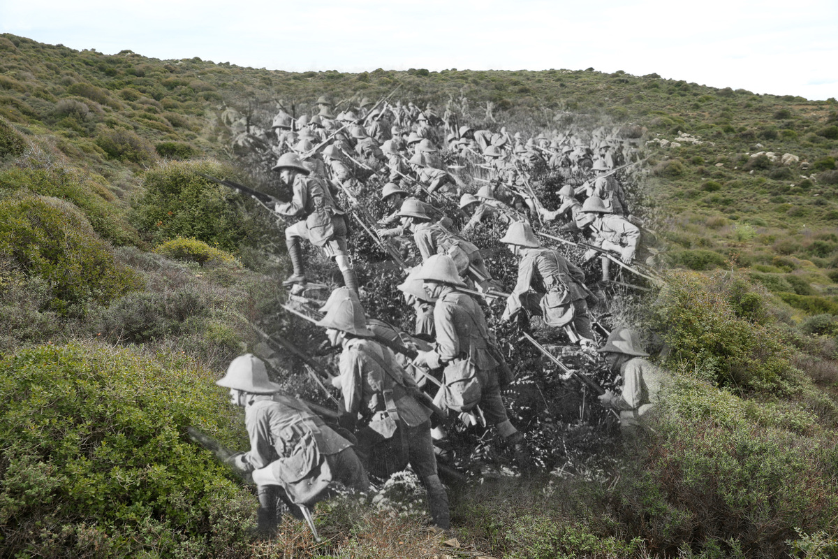 Gallipoli Campaign Pictures Show The First World War ...