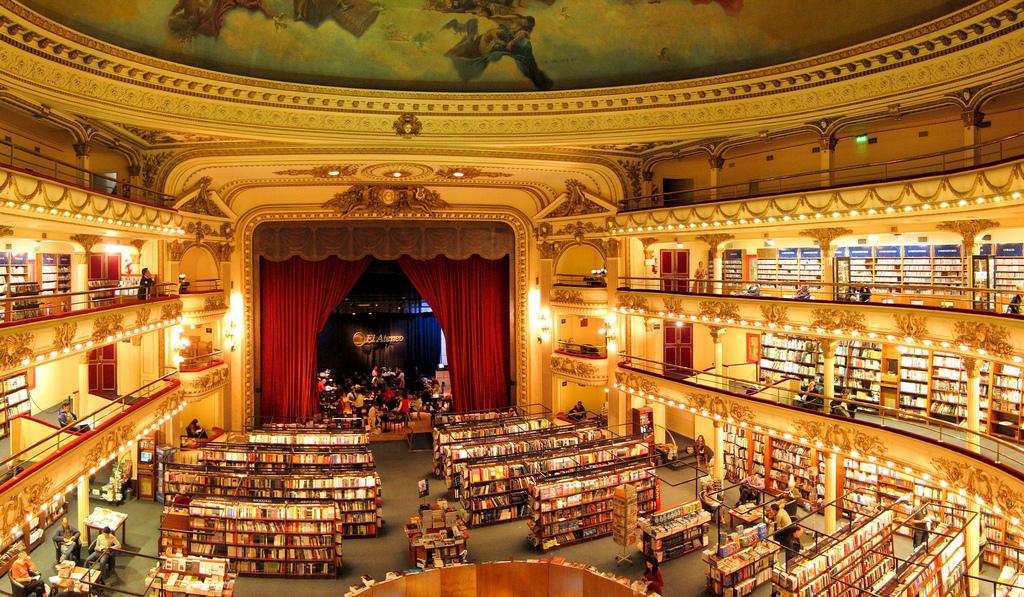Un paseo por las librerías más bonitas y curiosas del mundo