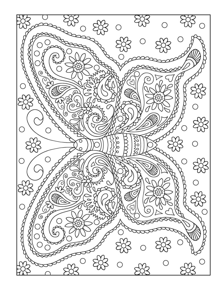 ADULT COLORING BOOKS Coloring Pages