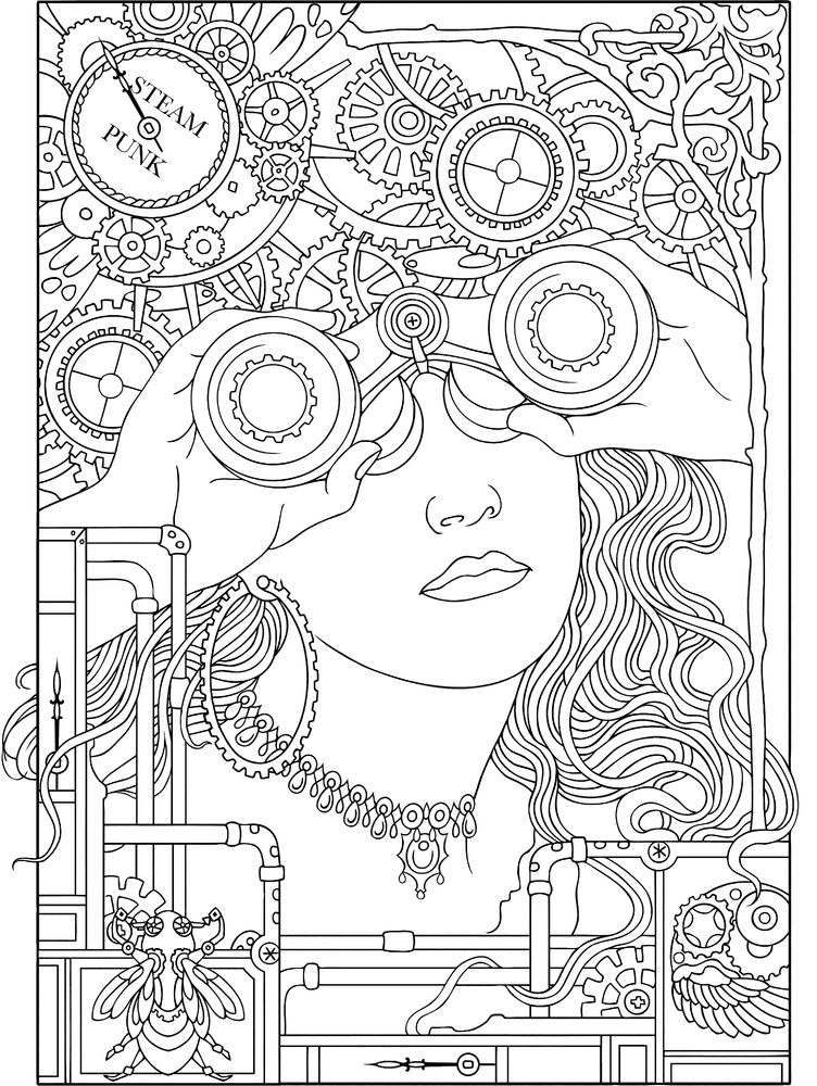10 adult coloring books to help you de stress and self express - Books To Color
