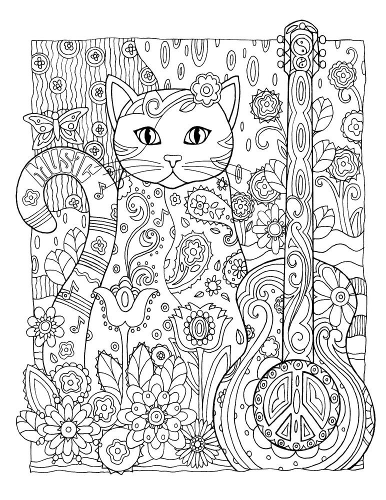 The Animals & Friends Coloring Book (Volume 1)