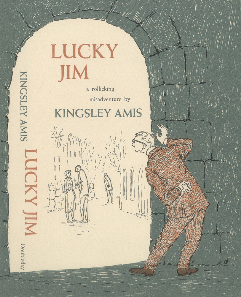 a review of amis s lucky jim I chortled as i reread lucky jim in kingsley amis's brilliant academic satire, a novel i have loved since my college days, the hero, jim dixon, teaches medieval history at a provincial university.