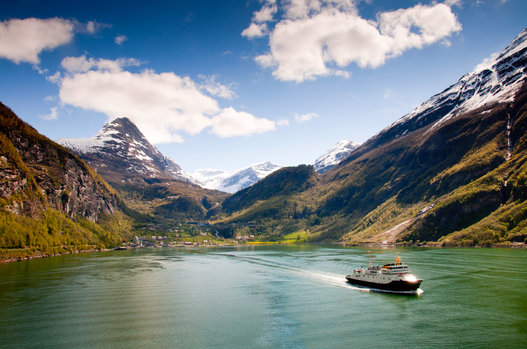 fiordo de geiranger noruega
