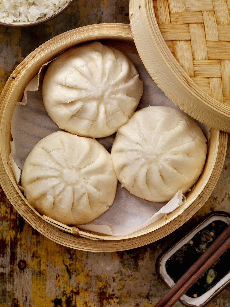 Steamed dumplings - Picture of Big Bowl Chinese and Thai ... |Huge Dumplings