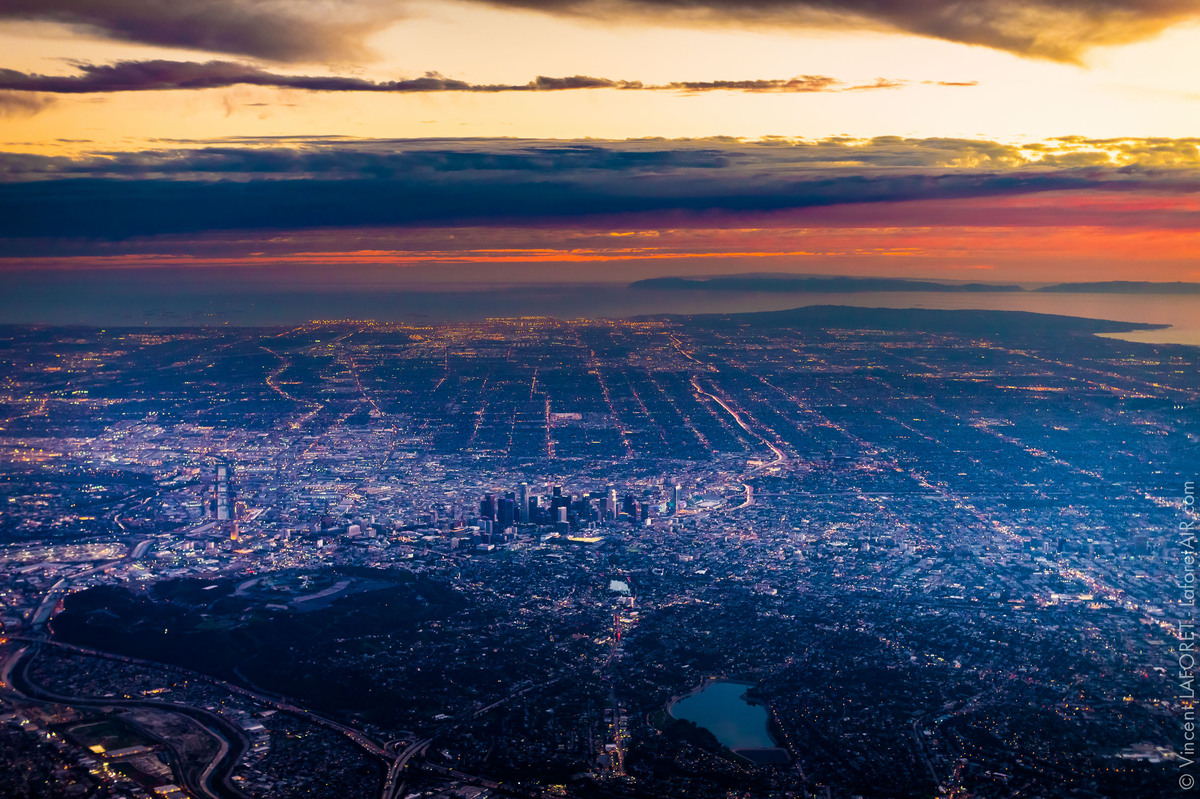 Los Angeles Looks Gorgeous From 10 000 Feet In The Air