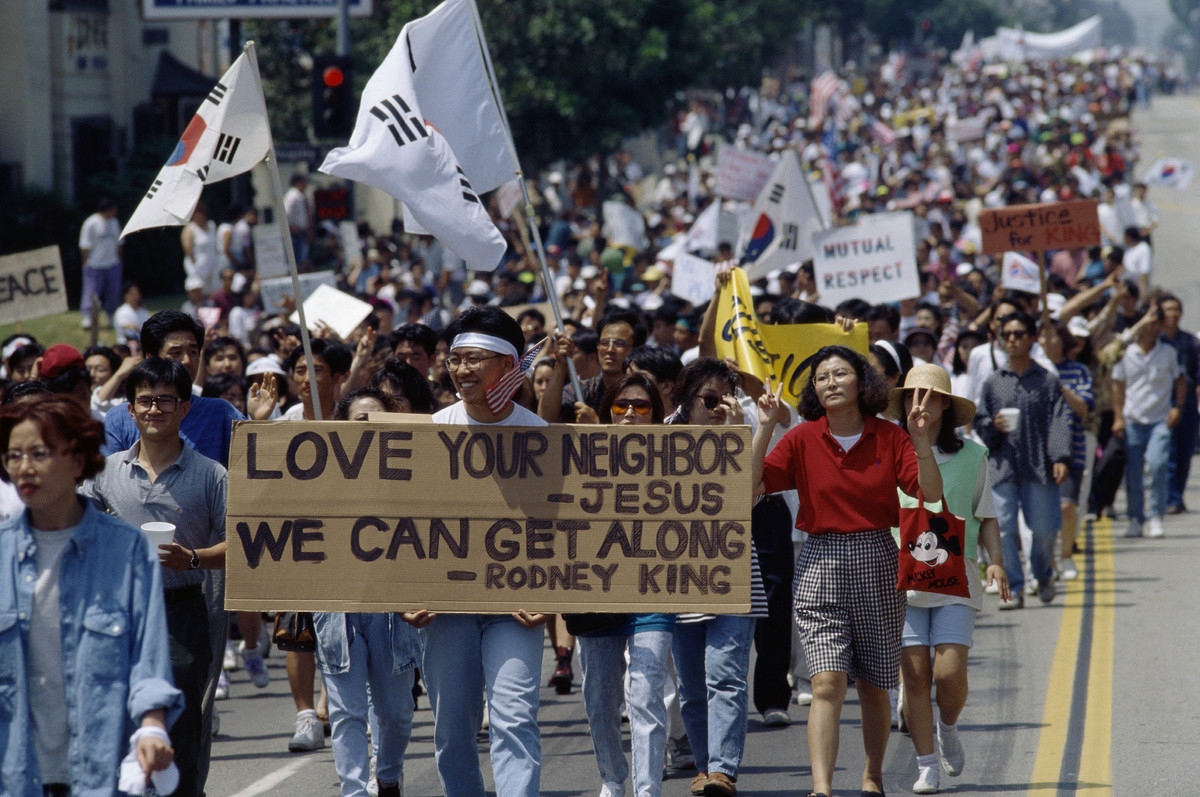 1992 la riots Peniel joseph looks back on the los angeles riots 25 years later he says we still can't answer rodney king's question: can't we all just get along.