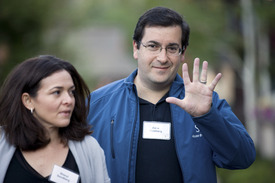 DAVE GOLDBERG, Survey Monkey CEO And Husband Of Facebooks Sheryl.