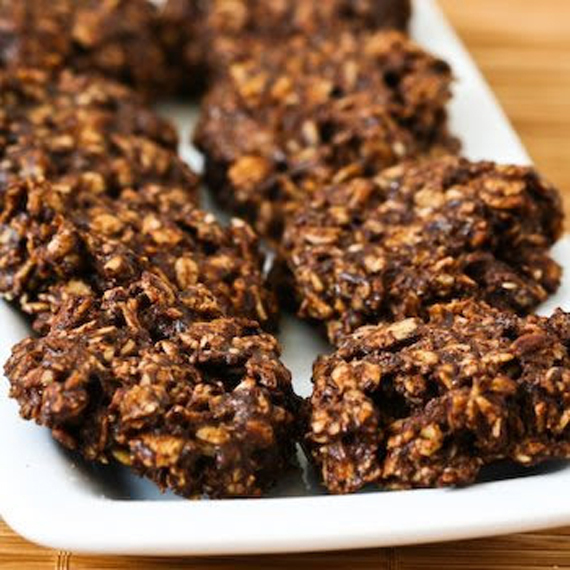 free or low sugar and flourless chocolate and oatmeal cluster cookies ...