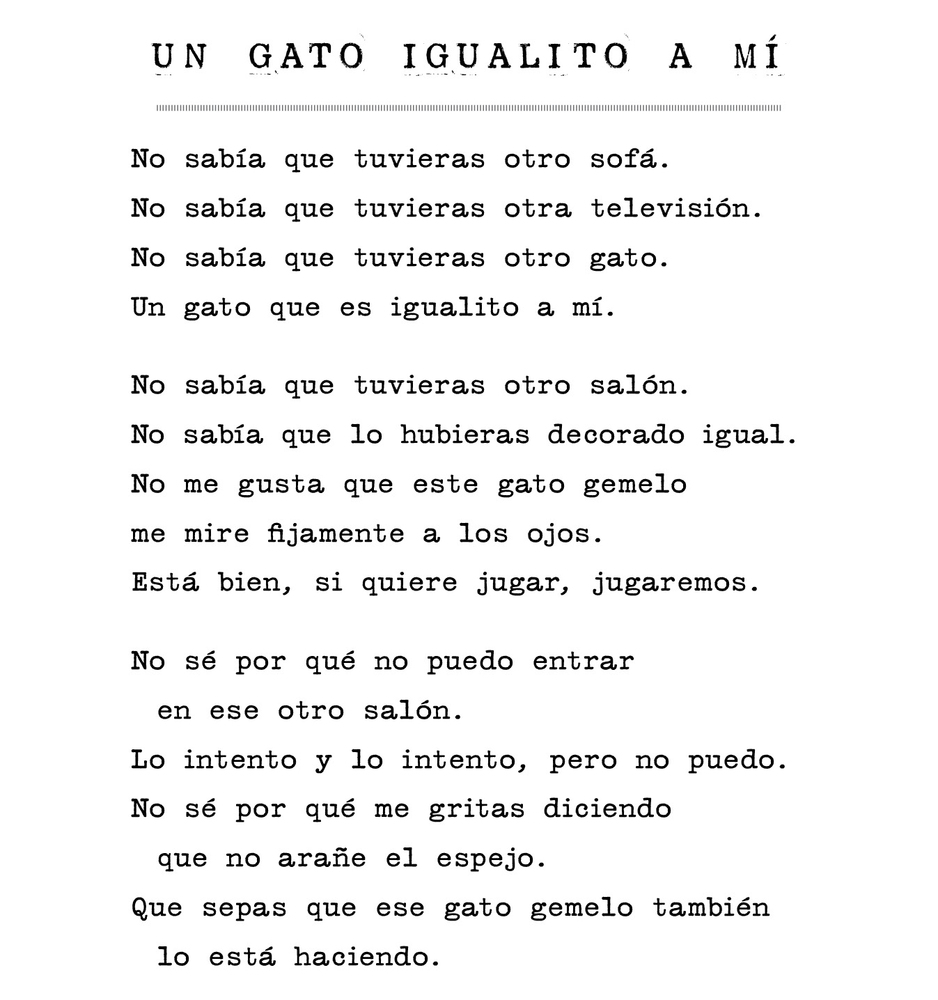 poemas de gatos