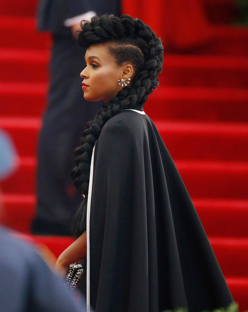 Janelle Monáe's Met Gala Braid And More Celebrity Beauty ...