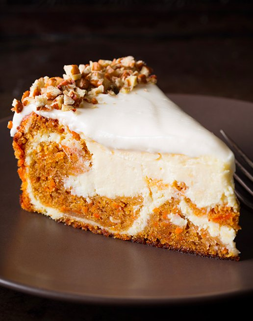 29 Carrot Cake Cheesecake
