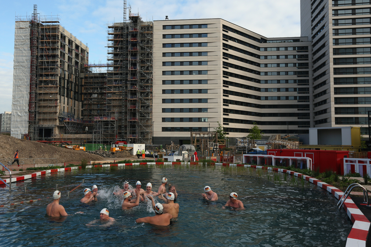 King 39 S Cross Pond Club Is London 39 S Latest Boutique Outdoor Pool Huffpost Uk