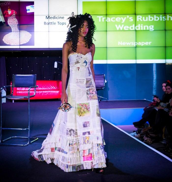 Como hacer un vestido de novia de reciclaje
