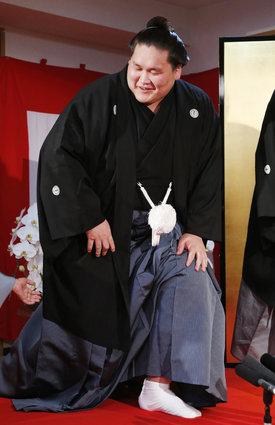 照ノ富士の大関昇進が決定 口上...