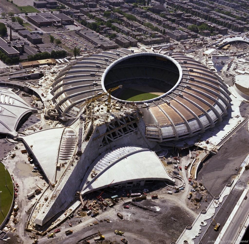 20 photos qui font revivre l 39 histoire de montr al photos - Piscine du stade olympique ...