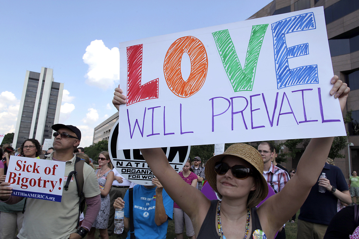 gay marriage ultimately doesnt