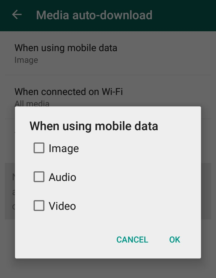 disabling auto-downloading of media