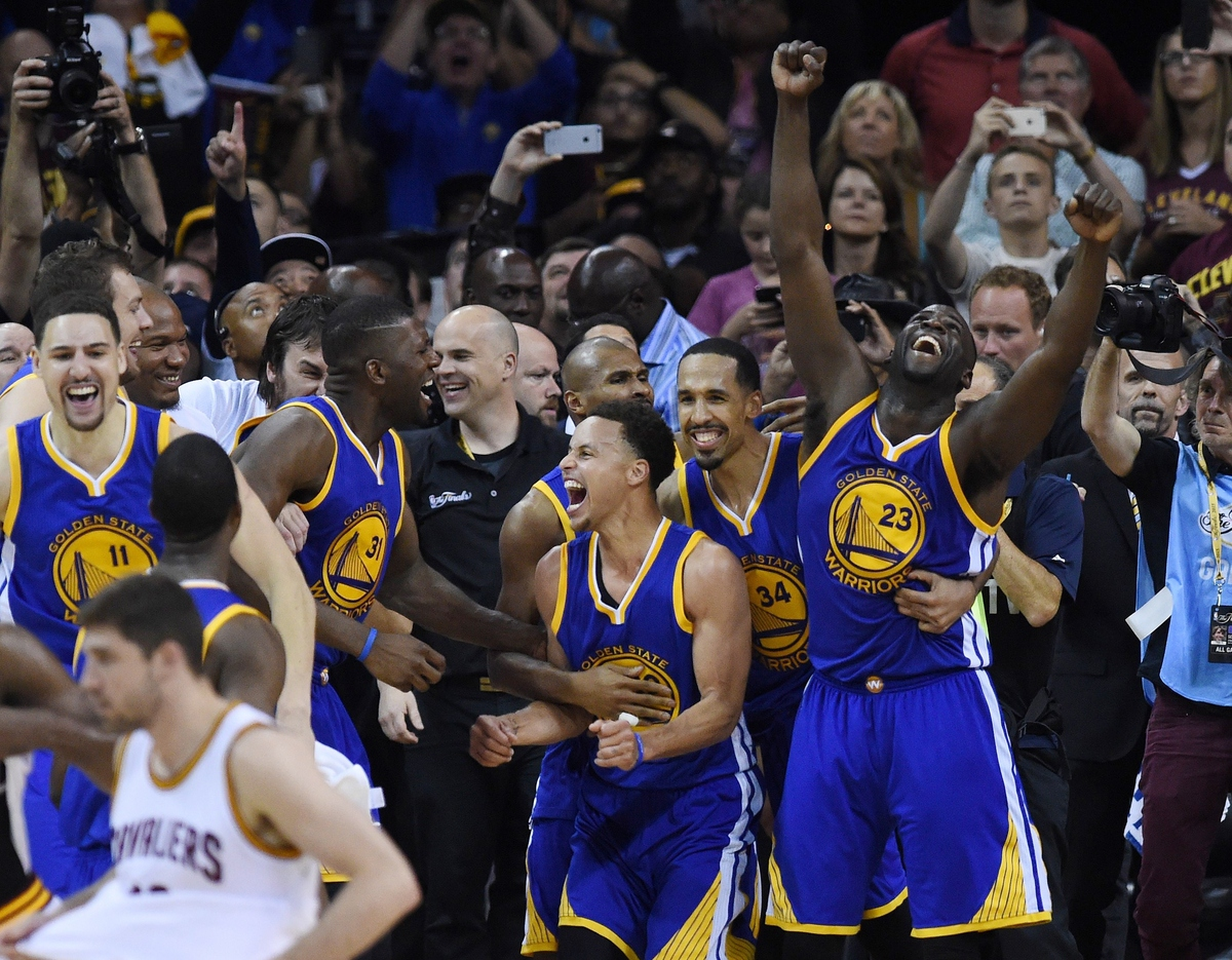 golden state warriors win the 2015 nba chionship huffpost