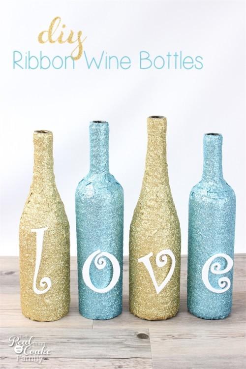 14 creative ways to reuse empty wine bottles huffpost - Creative ideas to reuse wine bottles ...