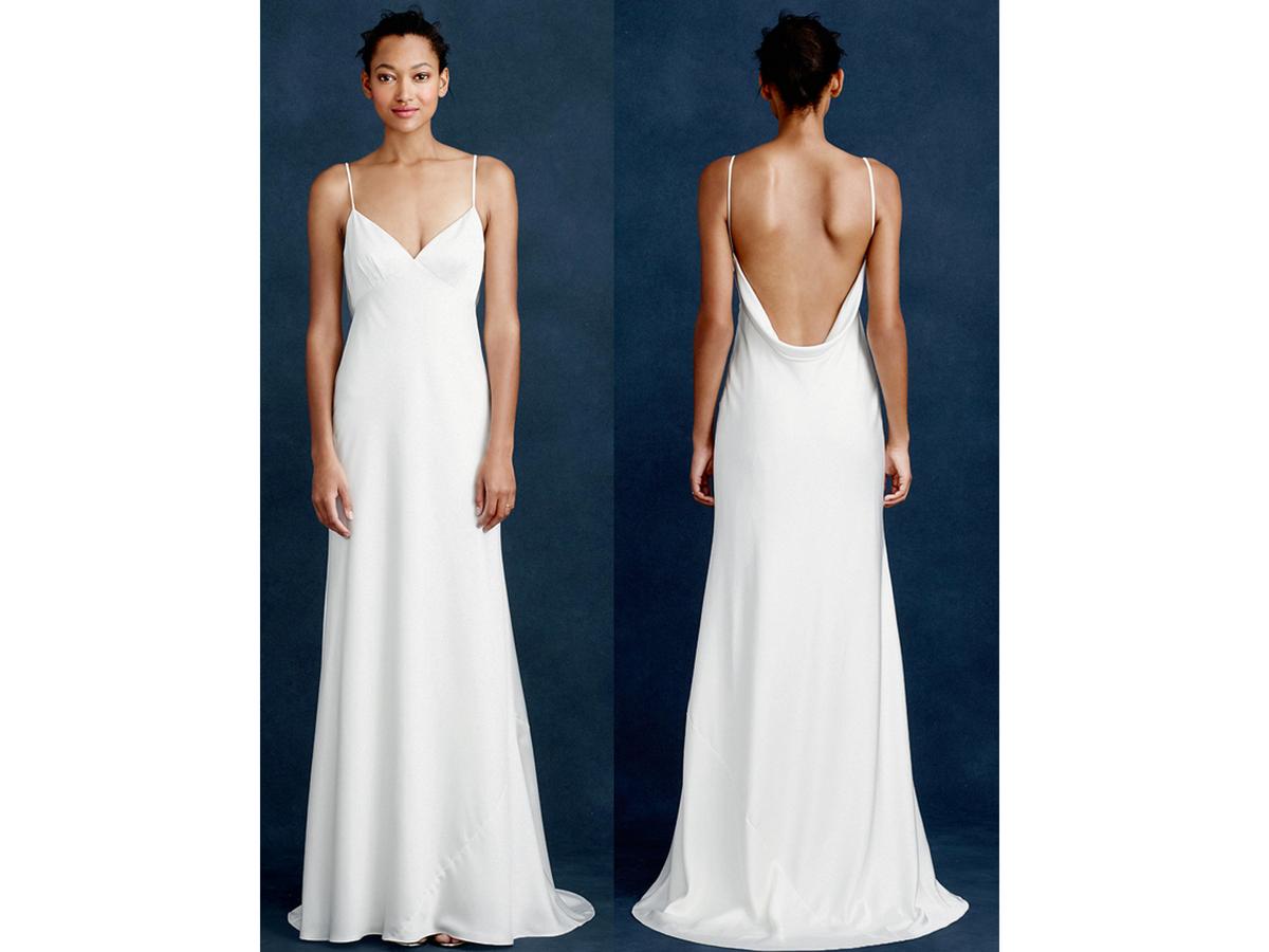 cheap wedding dresses n wedding dress under J Crew Brianna Gown