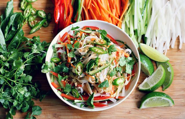 Cold asian pasta salad recipe