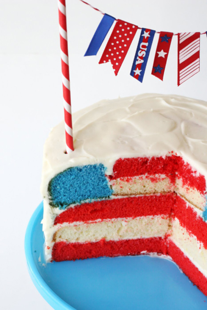 Flag Cake Recipes And More Patriotic Desserts That'll Sweeten The ...