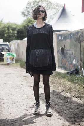 Фестиваль Гластонбери 2015 - Street Style