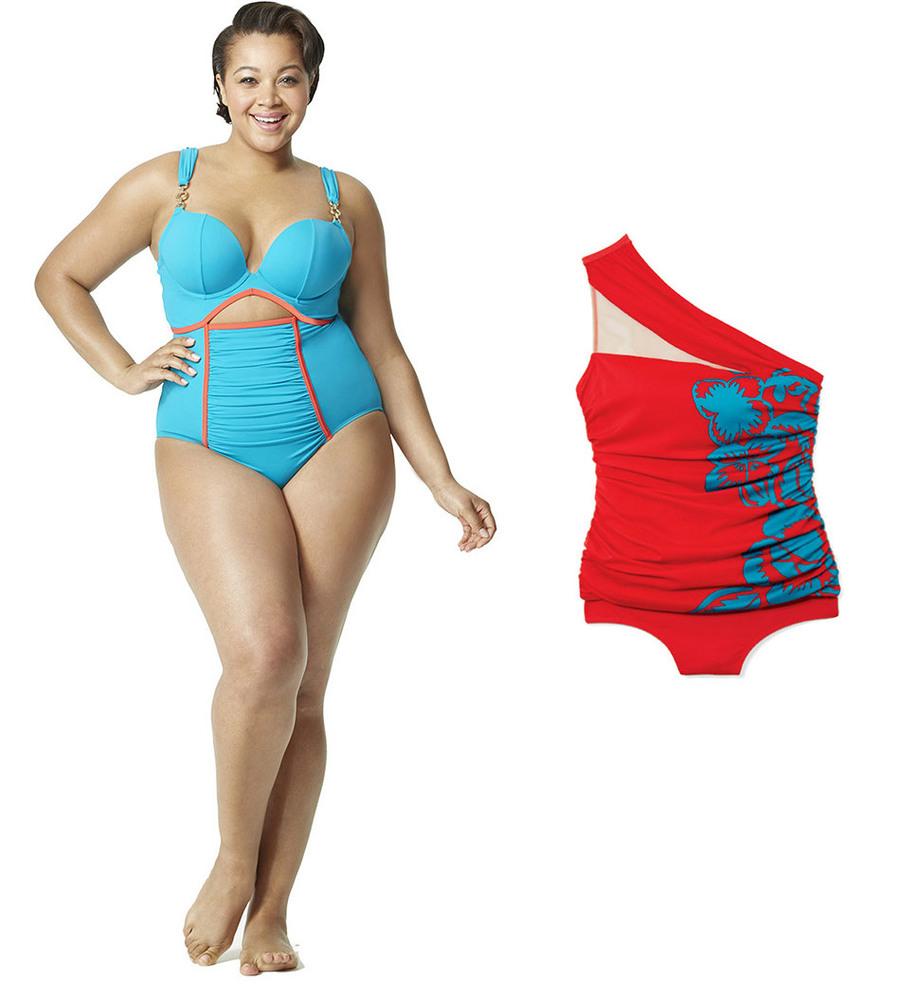 Flattering bikini shape