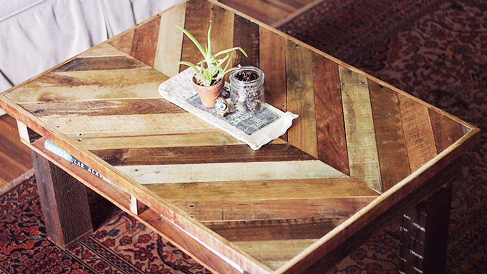 7 projects that transform wood pallets into stylish home
