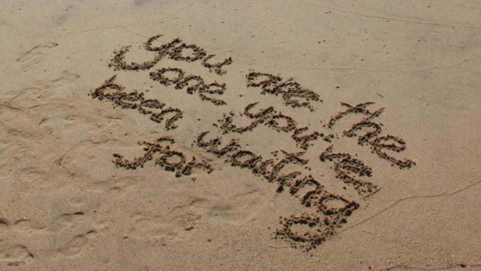 一起去海边吹吹风~好想光着脚丫,给你唱歌---