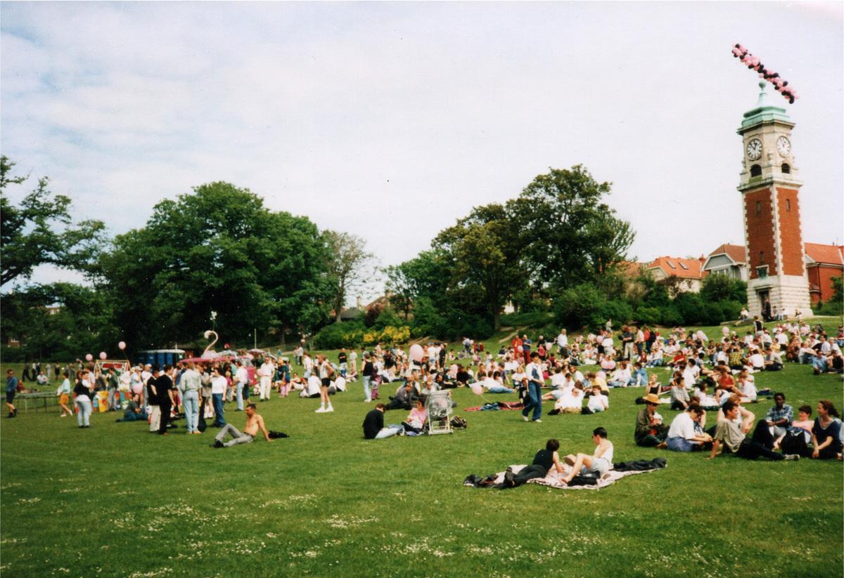 gay pride 2005 brighton