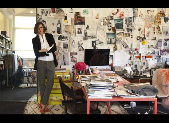 Haus And Home: Jenna Lyons Inspirational Office At J.Crew