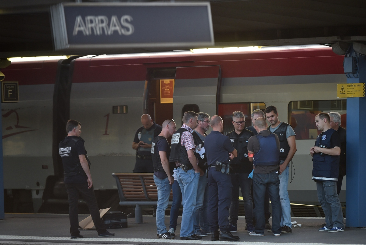 Arras Train Shooter Subdued By American Marines Ładowanie konto bet at home After Wounding Two ...