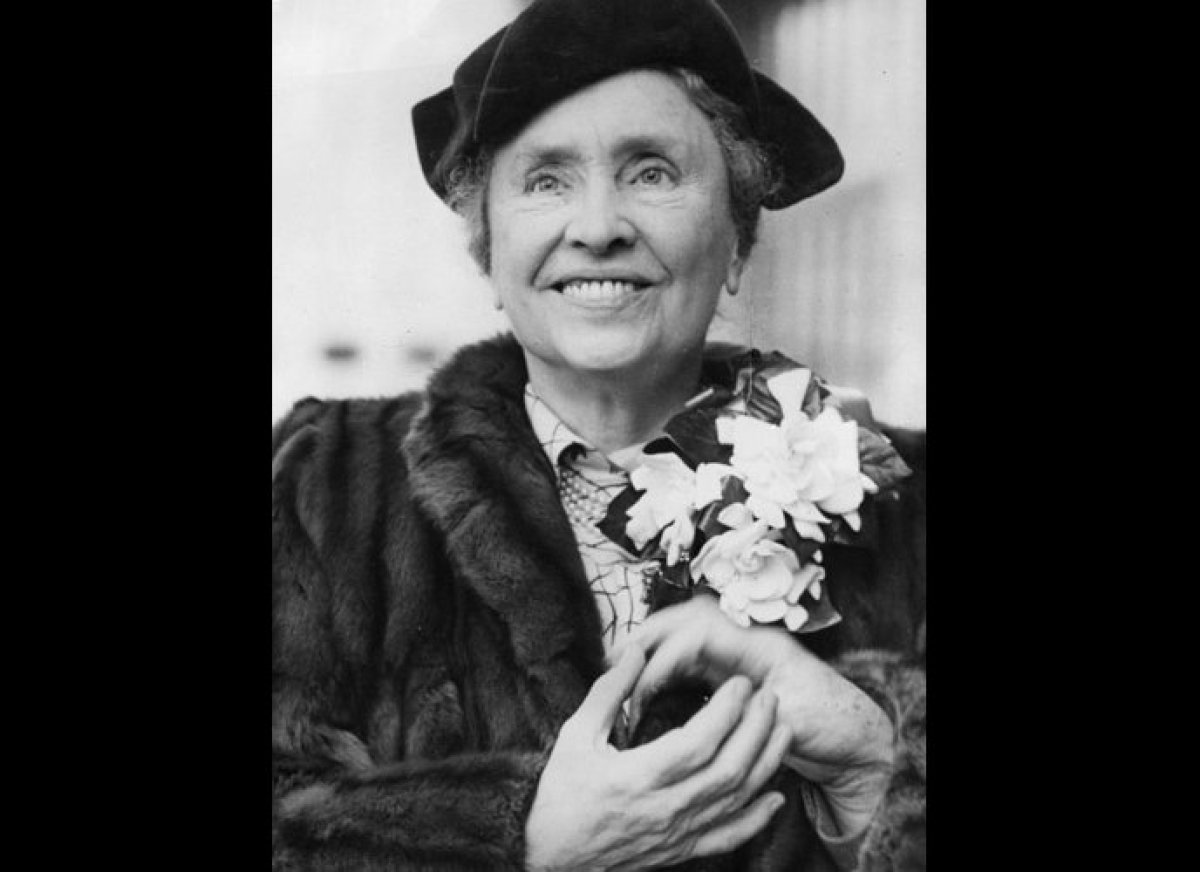 Helen Keller In Color Young Image Mag Helen Keller Pictures When She Was Younger Coloring Pics
