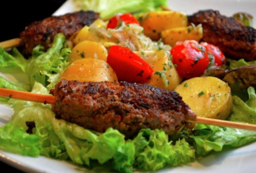 Salade kefta marocaine