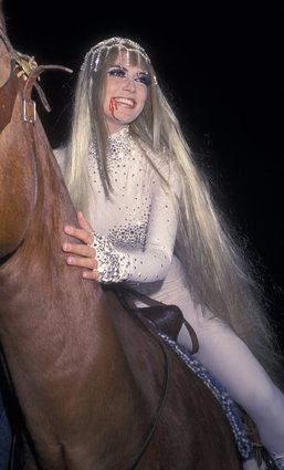 Heidi Klum as Lady Godiva
