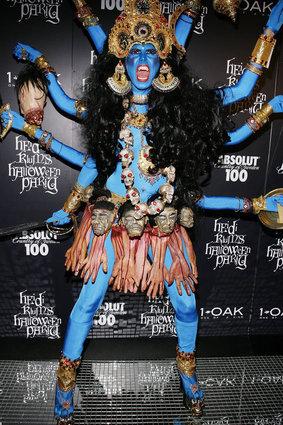 Heidi Klum as the Hindu Goddess Kali
