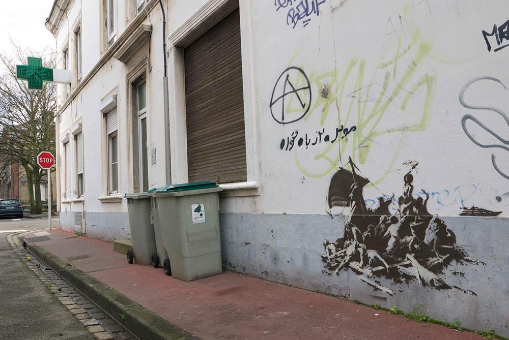 Banksy: anche Steve Jobs dalla Siria