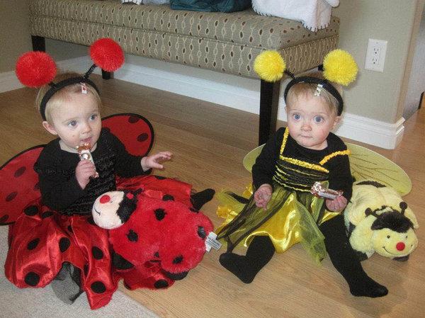 De dos en dos 21 disfraces de carnaval para hermanos gemelos - Disfraces para gemelos ...