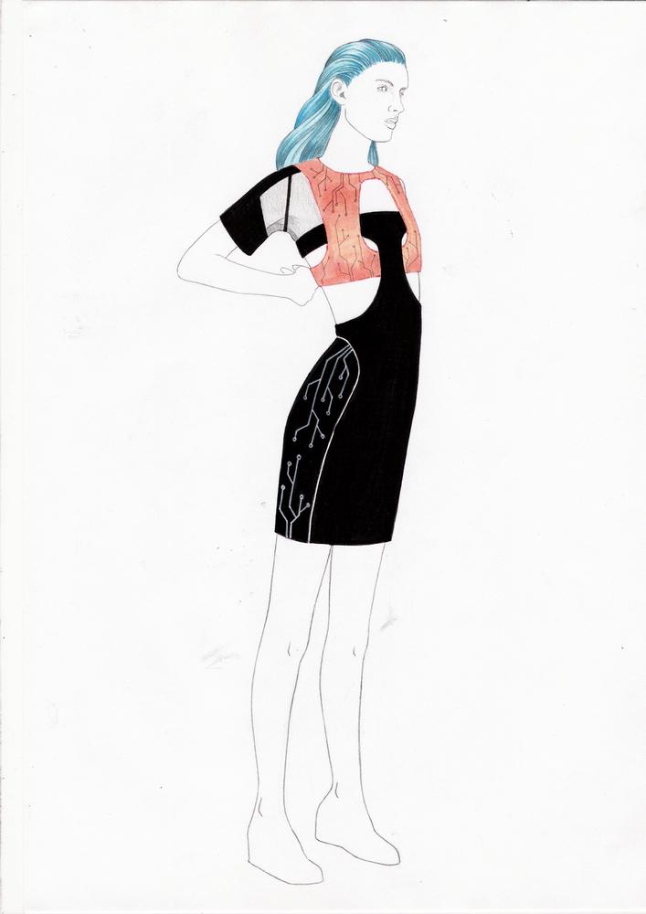 La cocina de la moda c mo son los vestidos antes de salir - Cocinas leyre ...