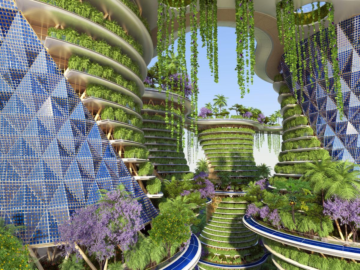 Photos hyp rions un projet d 39 immeuble agritectural du for Immeuble ecologique