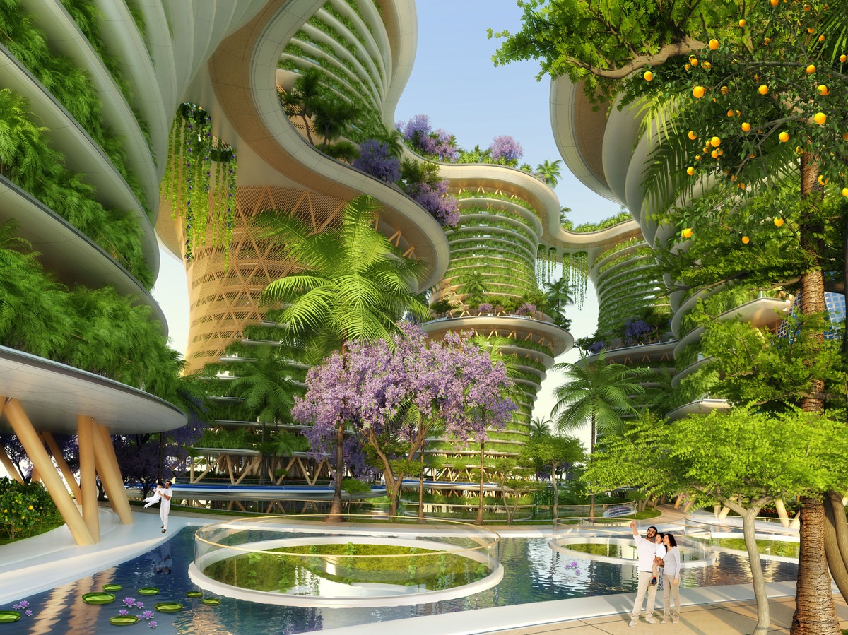 Photos hyp rions un projet d 39 immeuble agritectural du for Future interieur