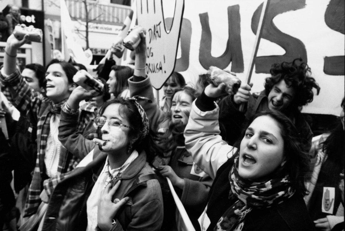 47 impactantes imágenes de mujeres manifestándose por todo ...